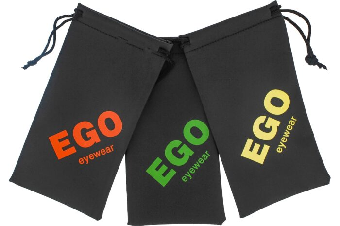 Ego Pouches W/ Color Logo